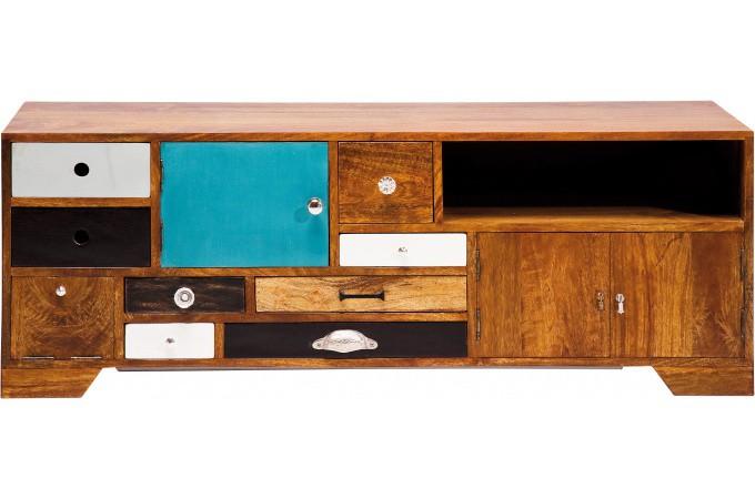 Meuble tv kare design multicolore coco meuble tv pas cher - Meuble kare design ...