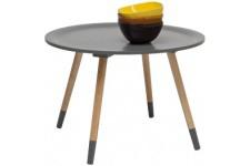 Table d'Appoint Table d'appoint Kare Design 4 pieds Gris Vincent, deco design