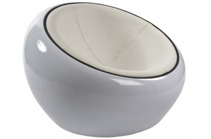 pouf design blanc avec assise blanche pouf design pouf. Black Bedroom Furniture Sets. Home Design Ideas
