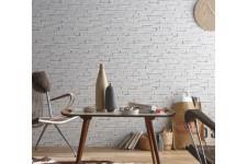 Papier Peints Brique & Pierre Papier peint briques blanches, deco design
