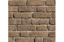 Papier Peints Brique & Pierre Papier peint briques jaunes cendrées, deco design