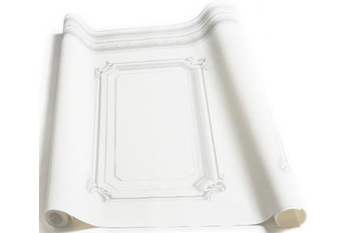 papier peint soubassement haussmannien blanc papier peint trompe l 39 oeil pas cher. Black Bedroom Furniture Sets. Home Design Ideas