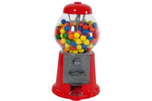 Distributeur Chewing Gum 23Cm Rouge