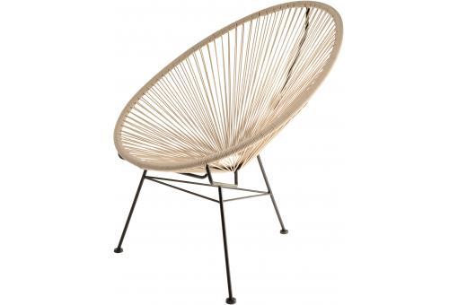 Fauteuil taupe design acapulco fauteuil design pas cher - La chaise longue la part dieu ...
