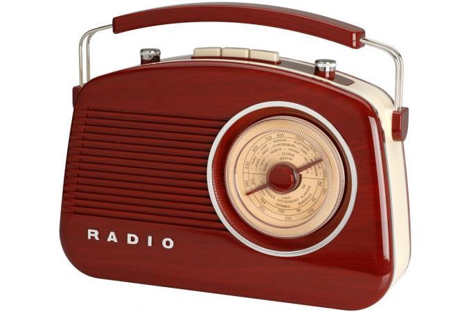 radio 60 39 s coloris bois gadget et jeux pas cher. Black Bedroom Furniture Sets. Home Design Ideas