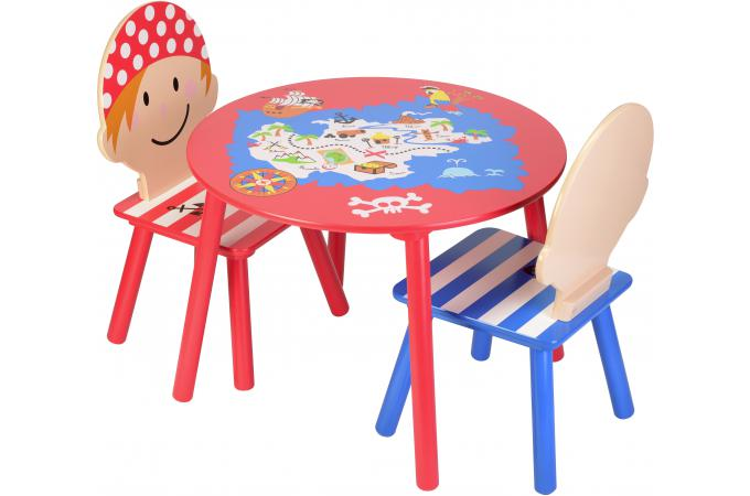 Table enfant la chaise longue p 39 tits pirates d co enfant for Table chaise enfant pas cher