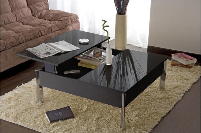 table basse rehaussable maison design. Black Bedroom Furniture Sets. Home Design Ideas