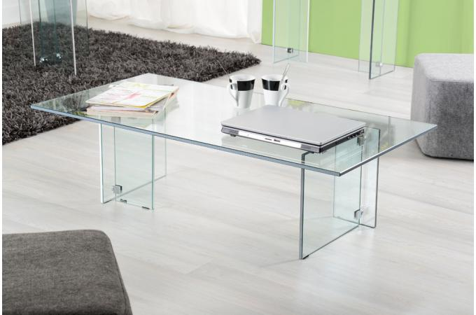 table basse design en verre trempe. Black Bedroom Furniture Sets. Home Design Ideas