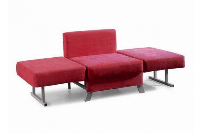 convertible 1 place uno rouge fauteuil design pas cher. Black Bedroom Furniture Sets. Home Design Ideas