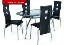 Table à manger 4 chaises Sao Paulo, deco design