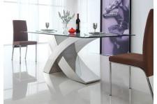Table à manger en verre design Joceline, deco design