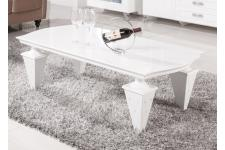 Table basse gamme shiny - Table basse blanche design