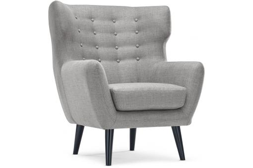 fauteuil scandinave depalma tissu gris fauteuil design pas cher. Black Bedroom Furniture Sets. Home Design Ideas