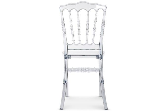 Lot de 4 chaises napoleon baroque plexi transparent - Chaise plexi pas cher ...