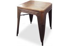 Table d'Appoint Table empilable bronzée en métal Alba, deco design
