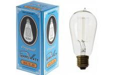 Lampe à Poser Ampoule transparente en verre Watt, deco design