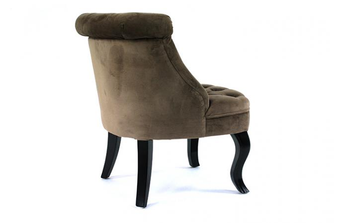 fauteuil crapaud capitonn trianon taupe fauteuil. Black Bedroom Furniture Sets. Home Design Ideas