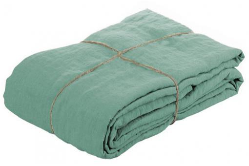 housse de couette lin lave 220x240 jade housse de couette et taie d 39 oreiller pas cher. Black Bedroom Furniture Sets. Home Design Ideas