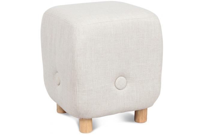 Tabouret blues naturel 30x30 h35cm meubles en ligne for Meuble 30x30