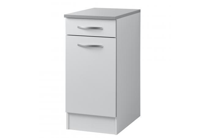 element de bas de cuisine blanc meuble de rangement pas cher. Black Bedroom Furniture Sets. Home Design Ideas