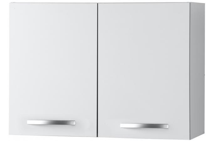element haut de cuisine 2 portes blanc meuble de. Black Bedroom Furniture Sets. Home Design Ideas