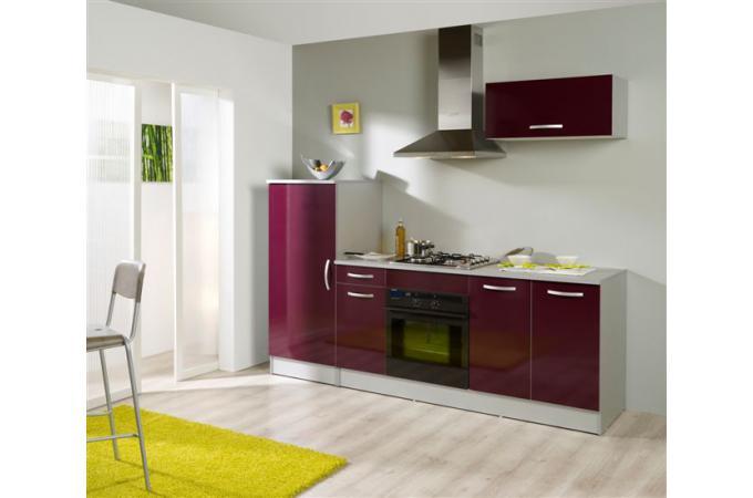 Cuisine Meuble Framboise : Set cuisine framboise meuble de rangement pas cher