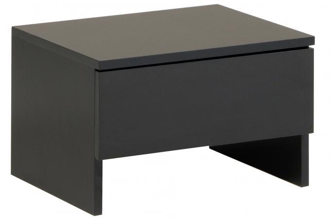 Table de chevet noire table de chevet pas cher - Table de chevet noire ...