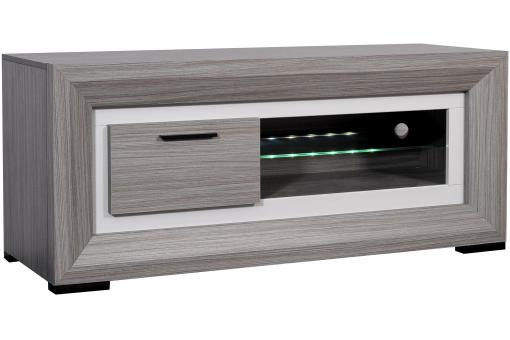 Banc TV Hifi 1 Porte Coulissante Myna