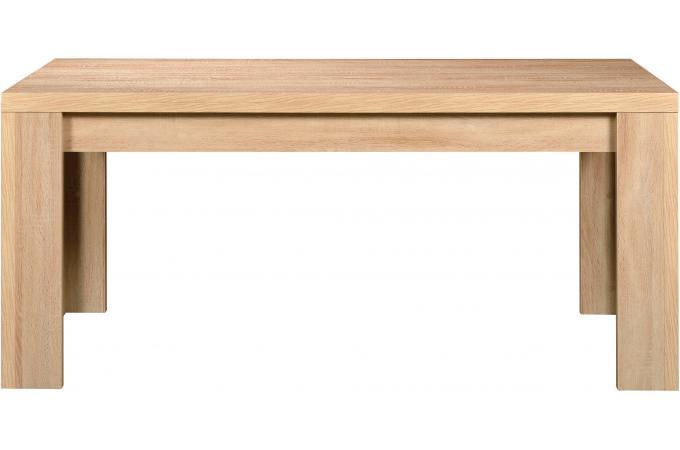 Table rectangulaire plateau bois ch ne clair kare table - Plateau bois pour table exterieur ...