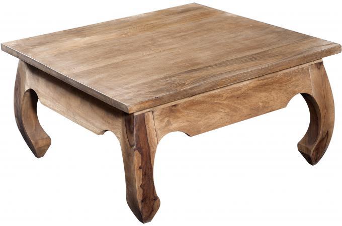 Table Basse Carree Pas Cher.Table Basse Carree En Bois Naturel Kabaena Plus D Infos