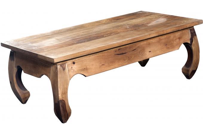 Table basse rectangulaire en bois craft table basse pas cher - Table basse en bois pas cher ...