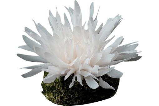 plante artificielle fleur dahlia blanche plantes. Black Bedroom Furniture Sets. Home Design Ideas