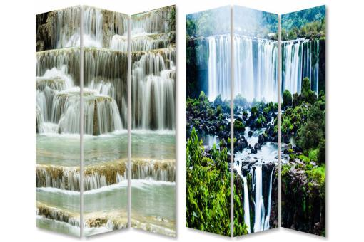 Paravent Photoimpression WATERFALL 120 X 2,50 X 180 cm