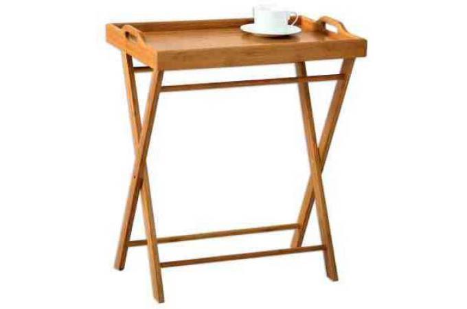 plateau en bois 35 x 55 x 61 5 cm urban meubles en ligne. Black Bedroom Furniture Sets. Home Design Ideas