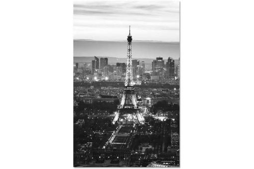 Tableau Photoimpression Tour Eiffel 70 x 110 CM CITY