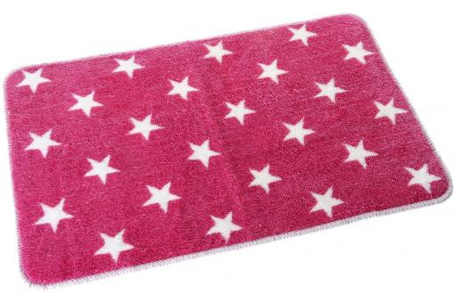 Tapis salle de bain stars rose 45 x 70 x 1 cm tapis de - Tapis de salle de bain pas cher ...