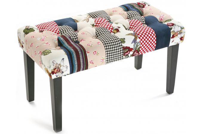 banc bout de lit romantique banquette m ridienne pas cher. Black Bedroom Furniture Sets. Home Design Ideas
