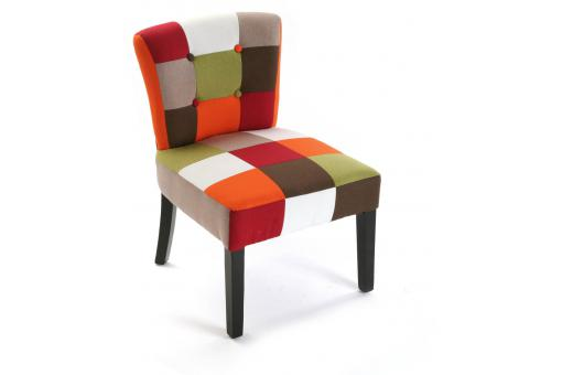 Fauteuil Red Patchwork