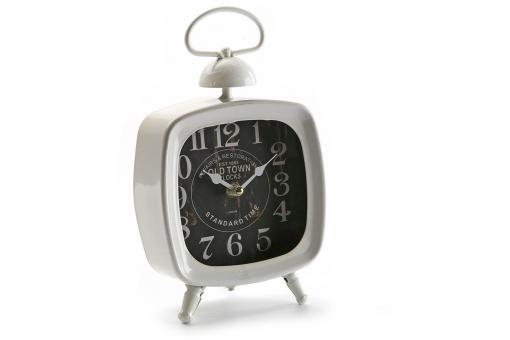 horloge de table blanche horloge design pas cher. Black Bedroom Furniture Sets. Home Design Ideas
