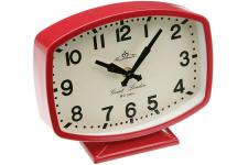Horloge de table rouge - Horloge metal design