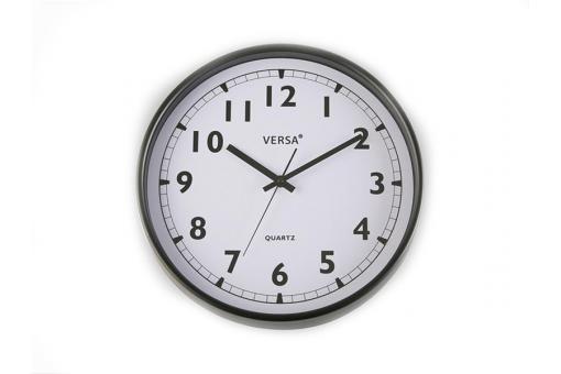 horloge murale cadran noire horloge design pas cher. Black Bedroom Furniture Sets. Home Design Ideas
