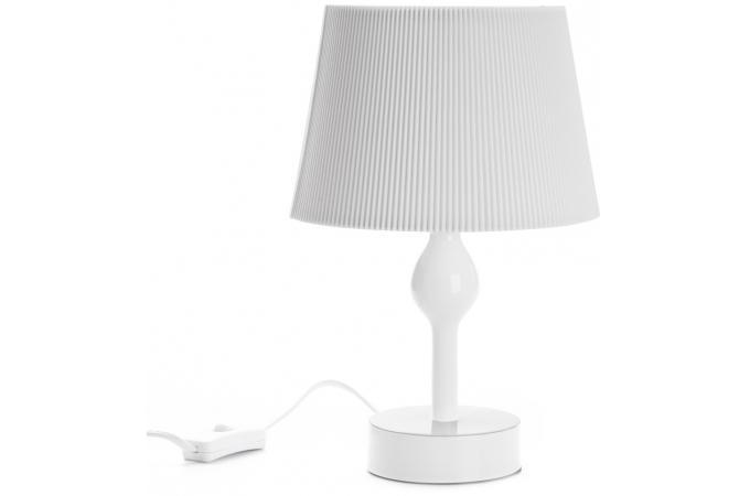 lampe de chevet blanche cm lampe poser pas cher. Black Bedroom Furniture Sets. Home Design Ideas