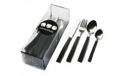 Ménagère Ménagère de 24 pièces noire, deco design