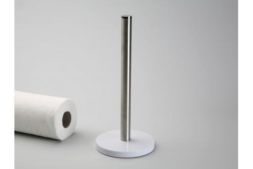 support de rouleau blanc de cuisine accessoires cuisine sali re gant pas cher. Black Bedroom Furniture Sets. Home Design Ideas