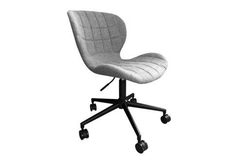 chaise de bureau zuiver omg noire et grise fauteuil chaise de bureau pas cher. Black Bedroom Furniture Sets. Home Design Ideas