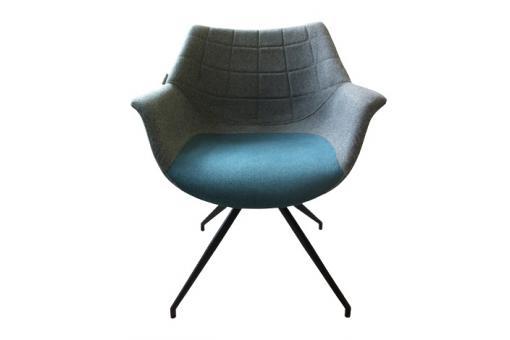 fauteuil vintage doulton bleu fauteuil design pas cher. Black Bedroom Furniture Sets. Home Design Ideas