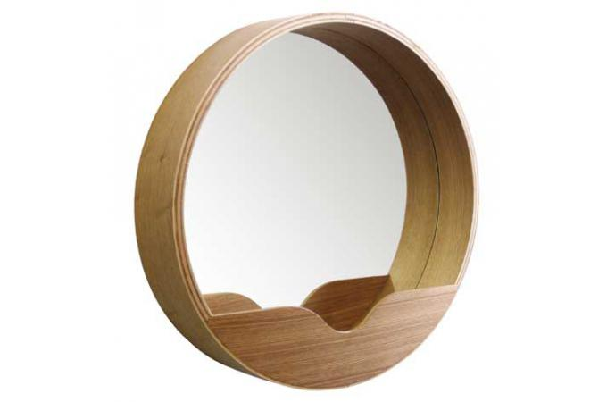Miroir Rond Avec Rangement 60 X 8 Cm Miroir Rond Et