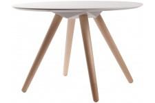 Table d'Appoint Table d'appoint Blanche en Bois Jean, deco design